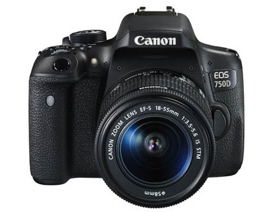 Canon EOS 750D 18-55 STM + 16GB C10 + Bag