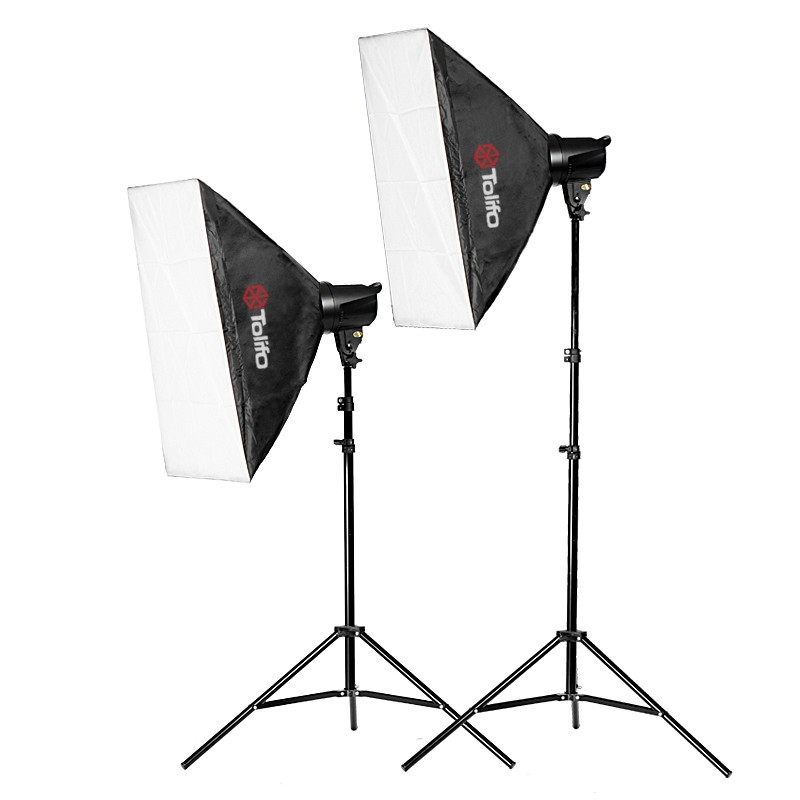 tolifo flash kit 2x 200w