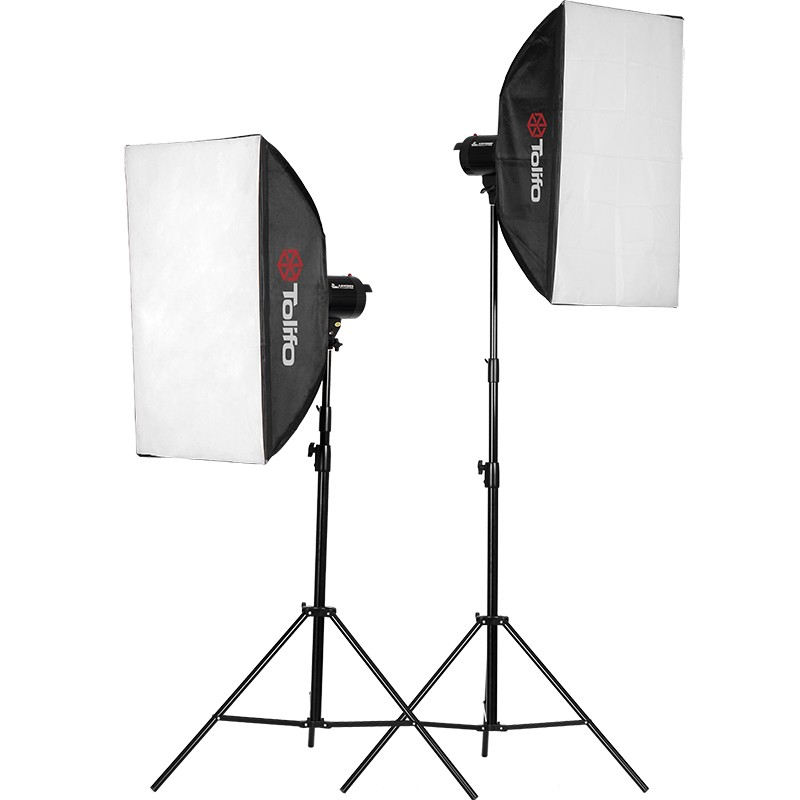 tolifo flash kit 2x 300w