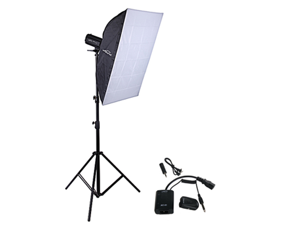 NiceFoto Studio Flash single head 400w